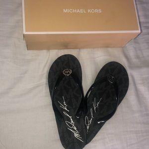 Michael Kors flip-flops
